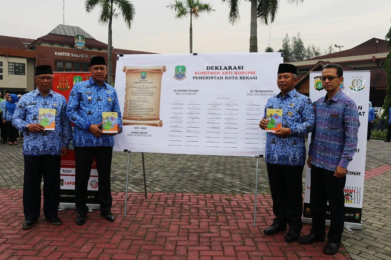 KPK Kantongi Komitmen Kota Bekasi Berantas Korupsi, Syarif : Agar Tidak Leave Service