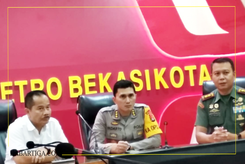 Pelaku Penyebar Hoax GPKB FORENDI Terancam UU ITE, Kapolres: Mari Kita Jaga Persatuan Dan Kesatuan Indonesia Sesama Warga Kota Bekasi