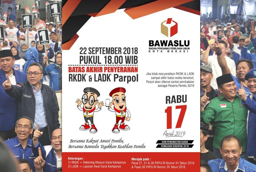 KPU Kota Bekasi Inkonsiten, PPP dan PAN Lolos dari Sanksi