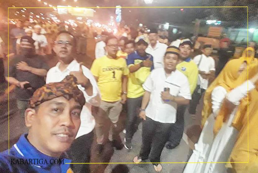 Masyarakat dan ASN Berbaur Sambut Rahmat Effendi di Jalan Ahmad Yani