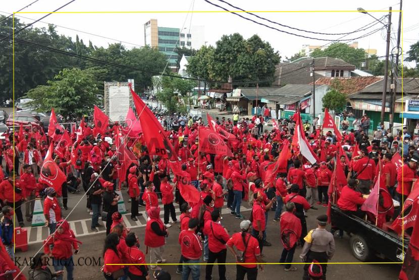 Kader PDIP Se-Kota Bekasi Minta Polri Tangkap Dalang Pembakaran Bendera