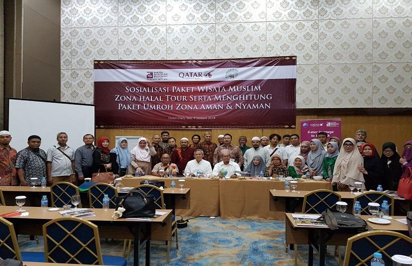 Barokah Madinah Travel & Qatar Airways Gelar Sosialisasi Wisata Muslim Zona Halal Tour