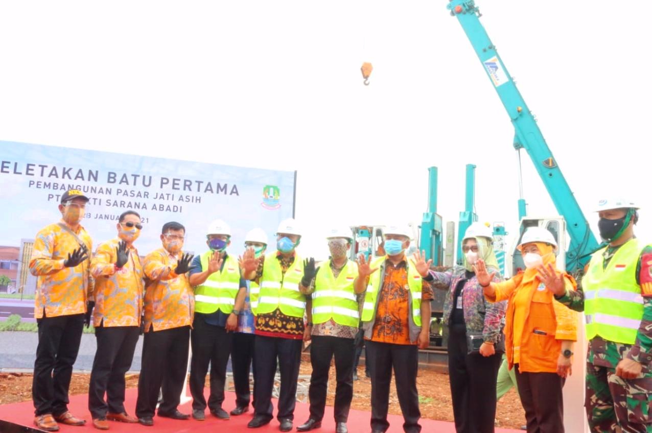 Pembangunan Pasar Jatiasih Dimulai, Pemkot Bekasi Menjamin Kepastian Hukum